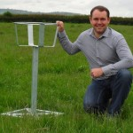 The Badger Proof Bucket Stand and Alan (on right)